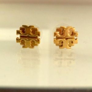 Tory Burch gold earring studs